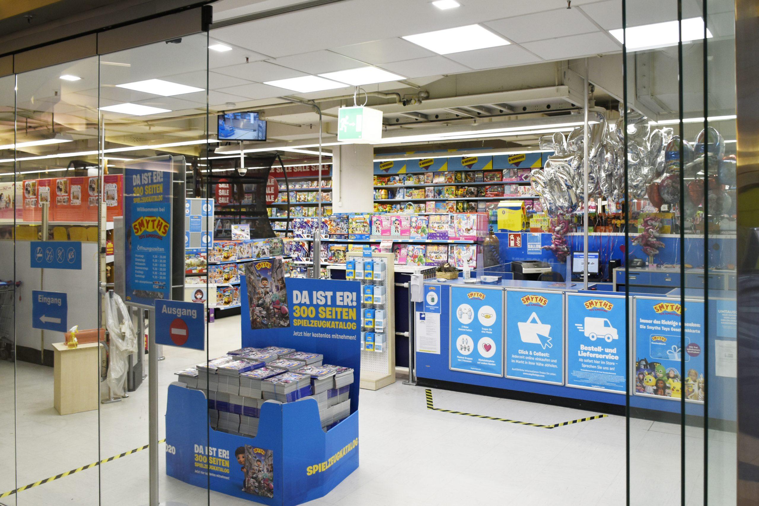 Einkaufszentrum Wuppertal Smyth Toys Superstores
