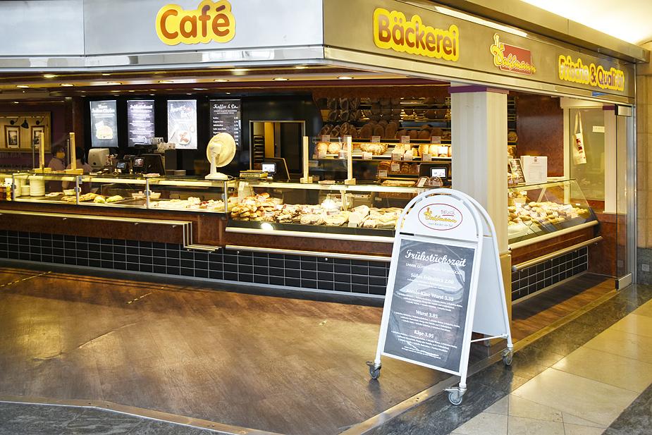 Einkaufszentrum Wuppertal DAHLMANN BÄCKEREI & CAFE