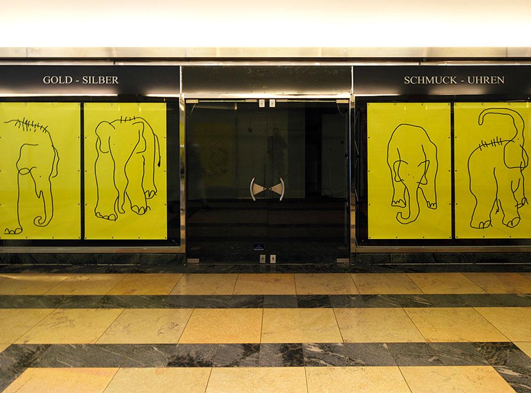 """Einkaufszentrum Wuppertal DIE RATHAUS GALERIE WIRD ZUM """"KUNSTRAUM"""""""