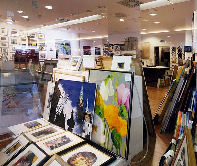 Einkaufszentrum Wuppertal Kunstgalerie Hashemi
