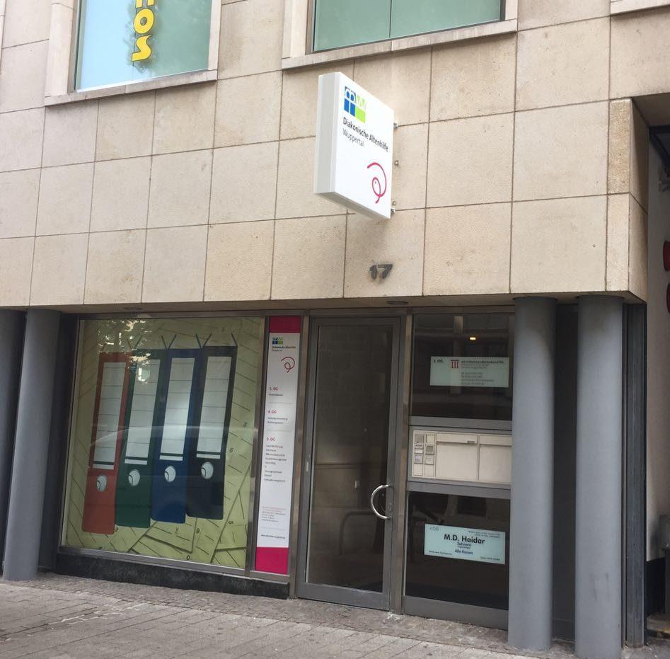 Einkaufszentrum Wuppertal Diakonische Altenhilfe Wuppertal