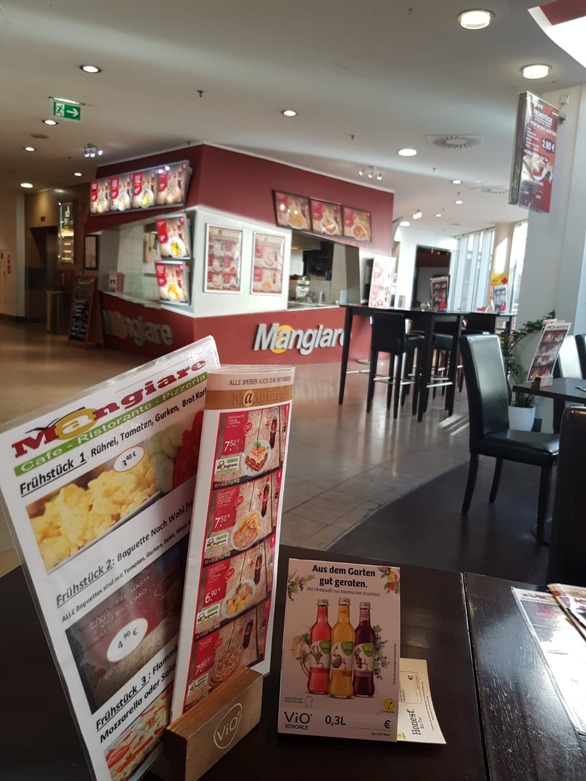 Einkaufszentrum Wuppertal Mangiare