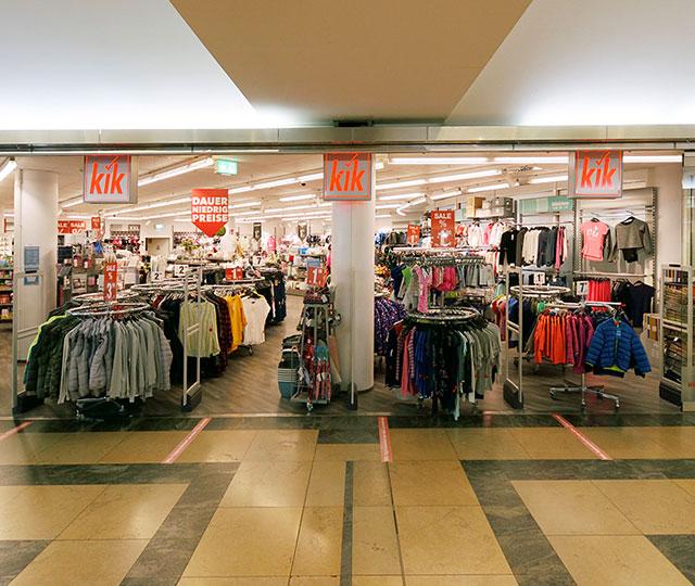 Einkaufszentrum Wuppertal KiK
