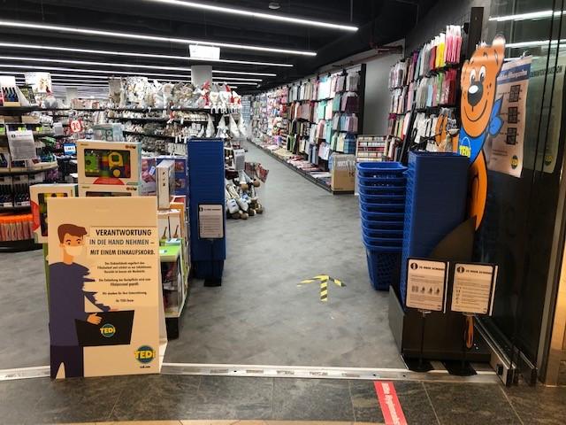 Einkaufszentrum Wuppertal Tedi